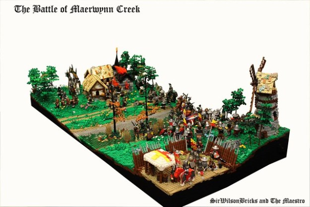 The battle of Maerwynn Creek
