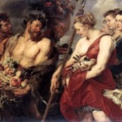 Возвращение Дианы с охоты (1615).