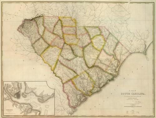 1822 Wilson-Tanner SC Map