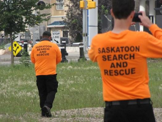 Training Saskatoon SAR in Project Lifesaver ESS