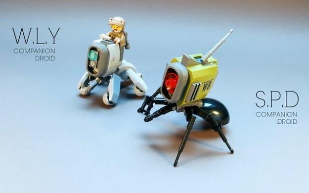 W.L.Y / S.P.D Droids LEGO MOC