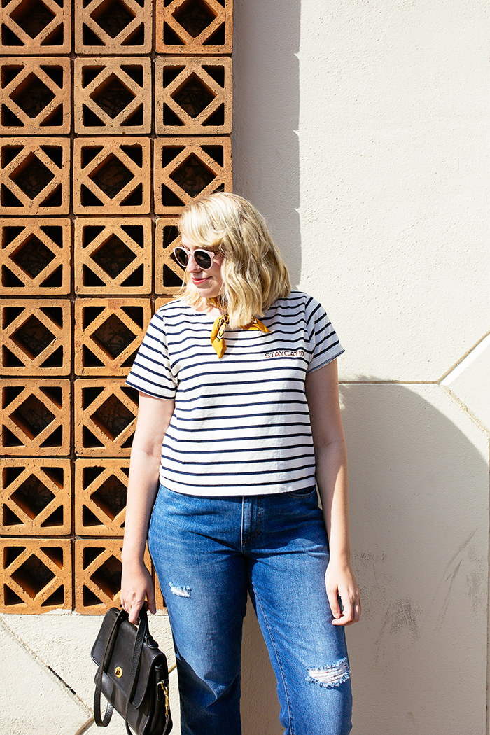 austin style blogger writes like a girl madewell staycation striped tee13