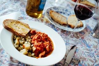 Lamb stew & gnocchi