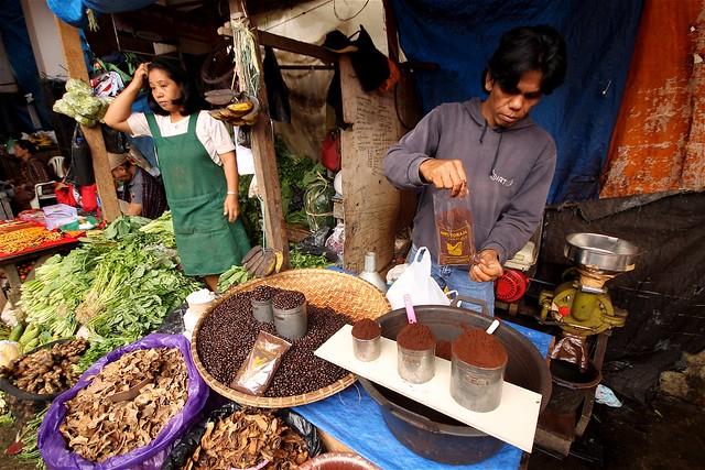 Rantepao Morning Market