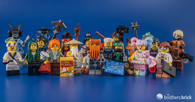 71019 Ninjago Movie Collectible Minifigures