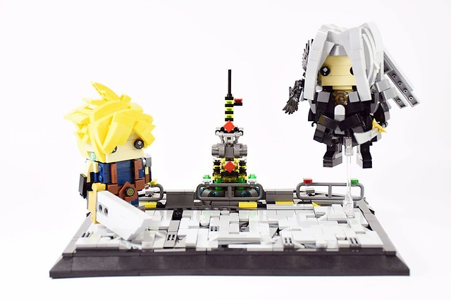 One-winged Angel Brickheadz ''Sephiroth'' and ''The Final Battle''