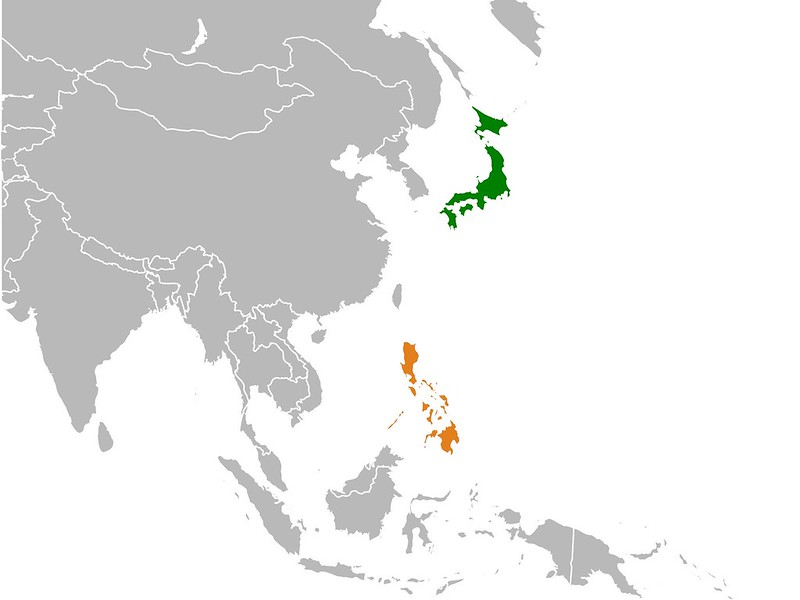 Japan and Philippines