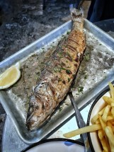Fishbar Monk: grilled sea bass