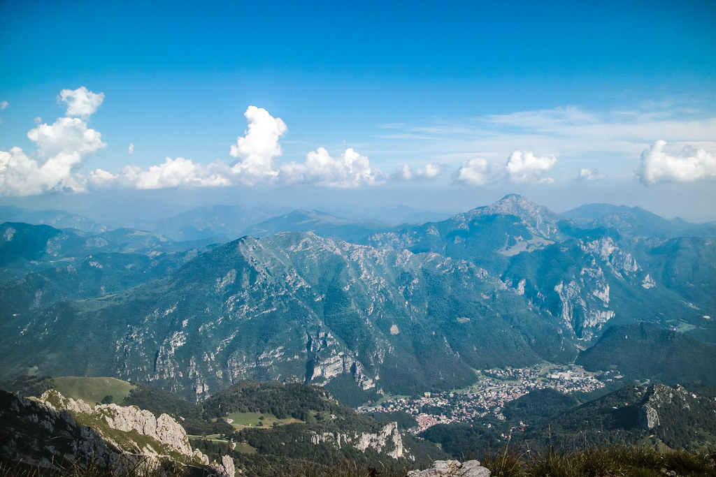 Vista dalla Grignetta