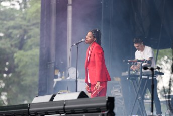 Kilo Kish @ Pitchfork Music Festival, Chicago IL 2017