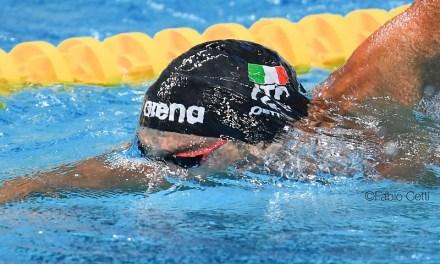 Hangzhou, Mondiali corta 2018: Detti di bronzo, Carraro da record nei 50 rana
