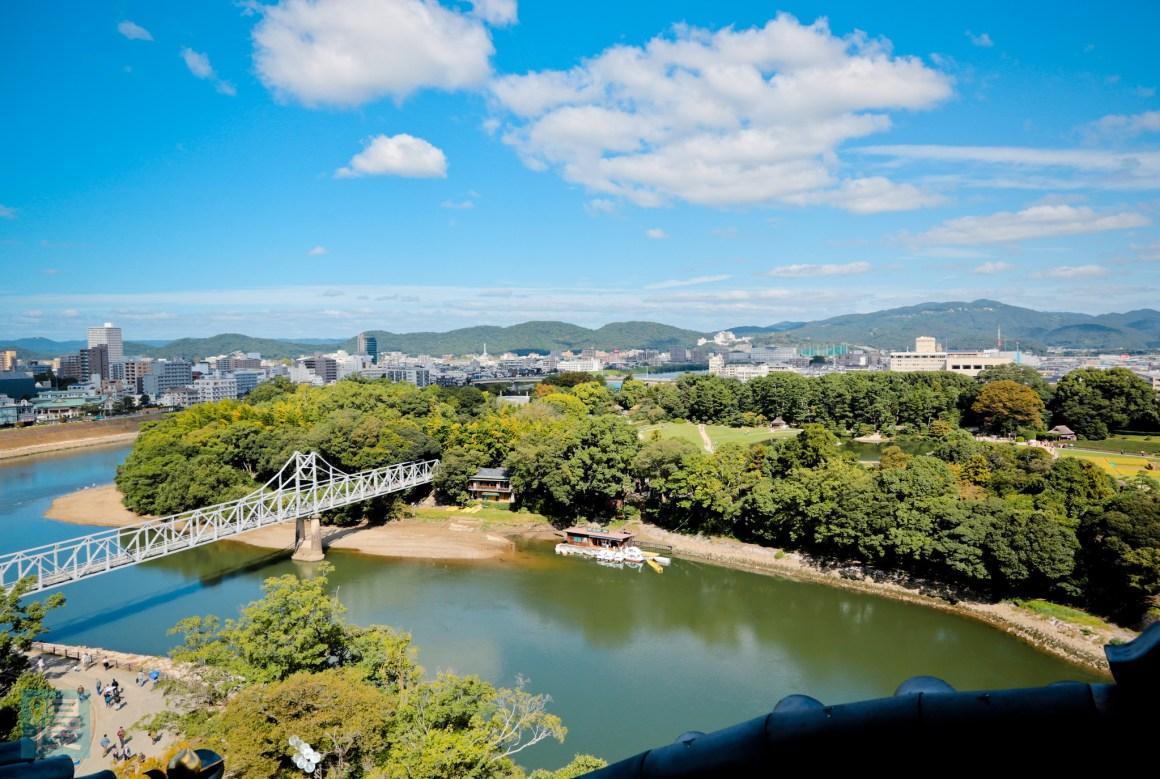 岡山景點自由行 岡山後樂園與岡山城 2016-526