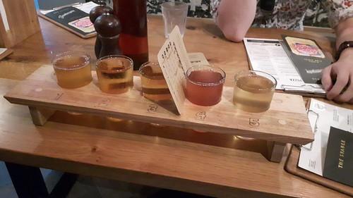 cider selection board