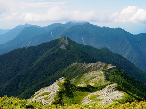 小太郎尾根と甲斐駒ヶ岳