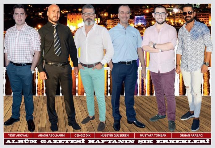 Yiğit Akovalı, Arash Abolharni, Cengiz Dik, Hüseyin Gülseren, Mustafa Tombak, Orhan Arabacı