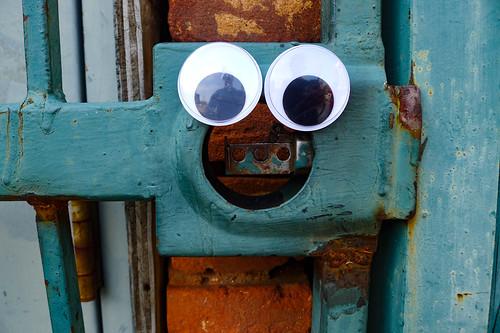 Googly-Eye Bombing Downtown Greenville-106