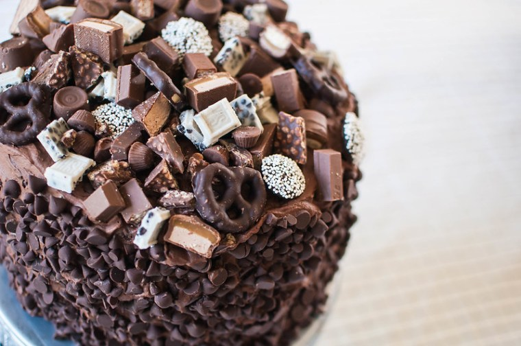 Chocolate Overload Layer Cake