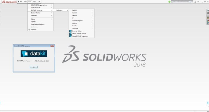 DATAKIT 2017.3 Import-Export Plugins for SolidWorks 2010-2018 x86 x64