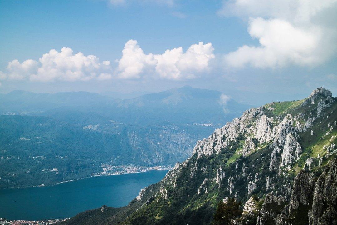 Lago di Como dalla Grigna