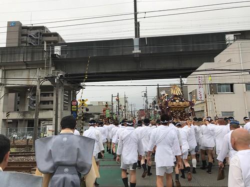 お神輿巡行【うちわ祭2017】