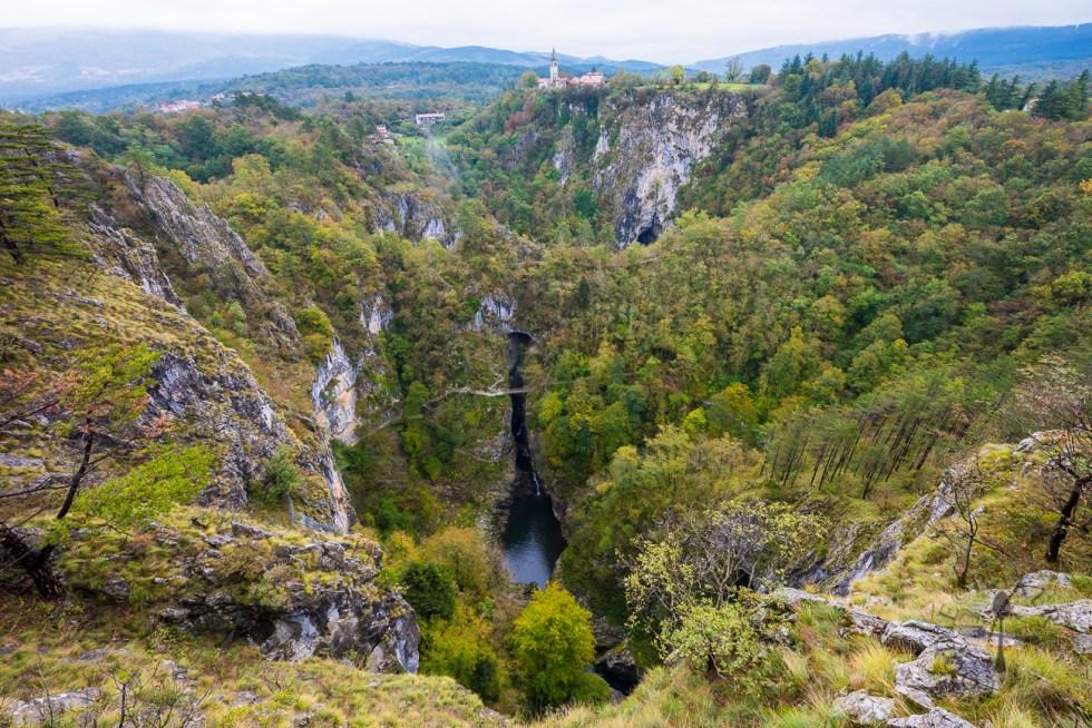 Skocjan Caves Karst Landscape