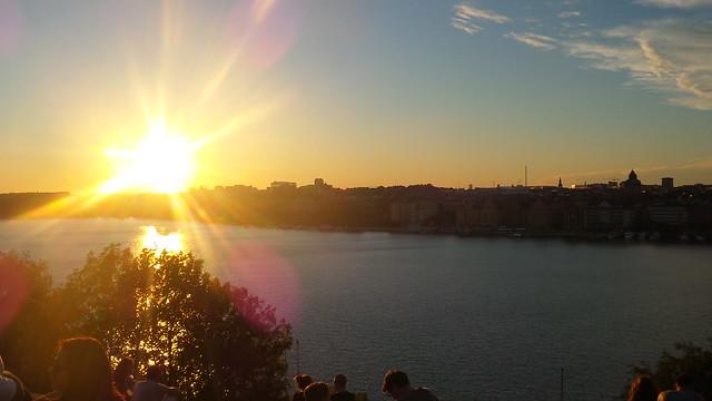 Sunset Skinnarviksberget