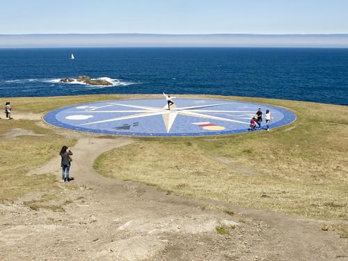 Rosa de los Vientos - Torre de Hércules - Punta Eiras