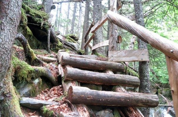 Cascade Stream Gorge Trail Stairs