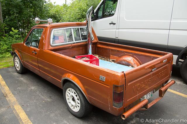 Vintage Volkswagen Diesel Truck