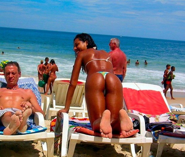Beautiful Brazilian beach babes