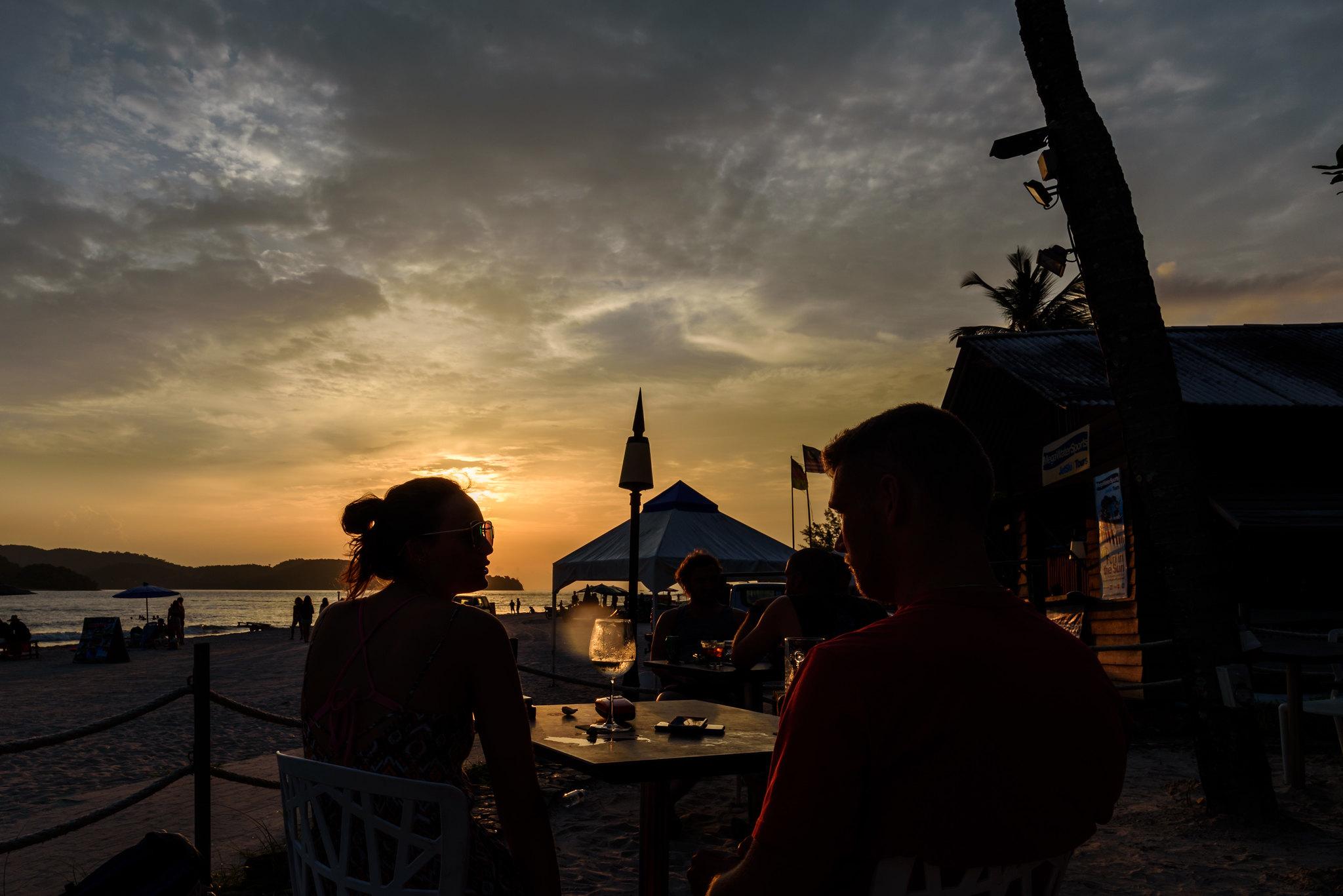 Pantai Cenang Langkawi Sunset