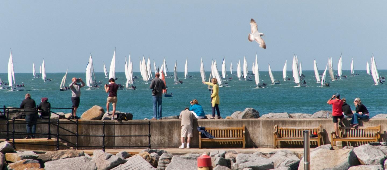 Round the island. Photo credit visitisleofwight.co.uk