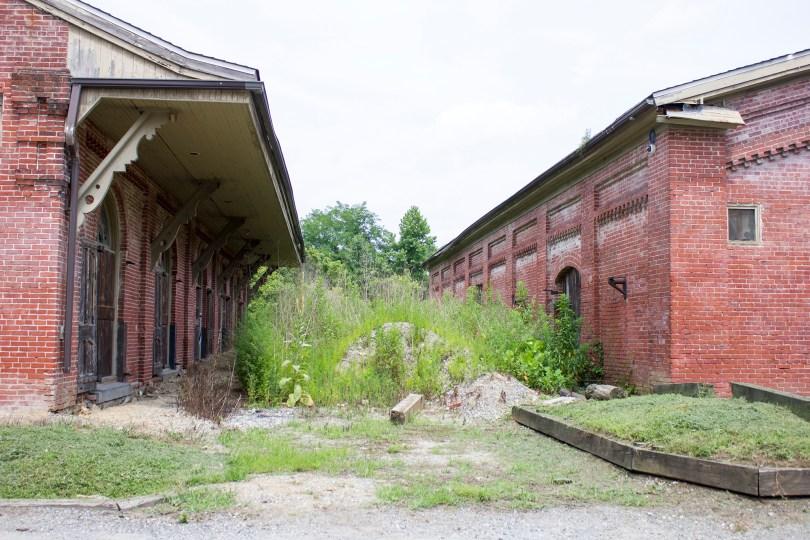 garrett snuff mill-abandoned