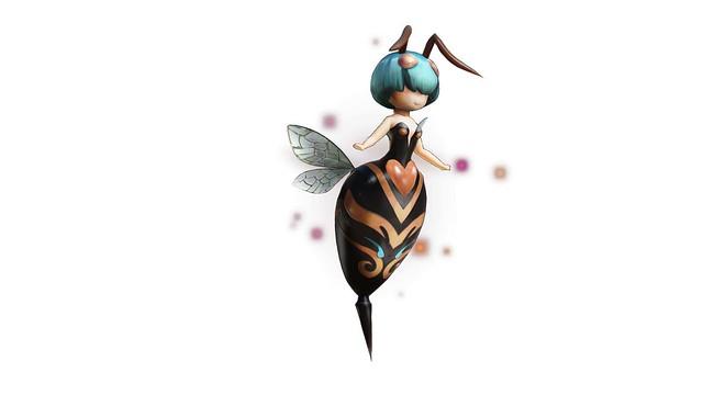 蜂の従魔・ピッツ