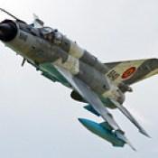 MiG-21MF-75 LanceR C 6840 RoAF   Baza 71 Aeriană Câmpia Turzii Open Day 2016.