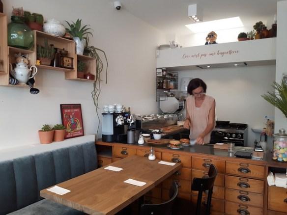 Lunchen Oostende - Sanseveria Bagelsalon (3)