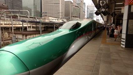 Train: Tokyo - Shin-Hakodate-Hokuto - Sapporo - Teine