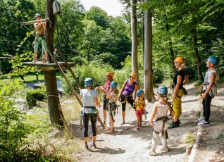 Familiensommer 2017 - Kletterpark