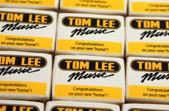 Tom Lee celebrates their new home