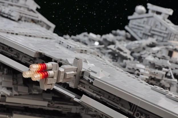 星球大战:流氓一个星际驱逐舰崩溃