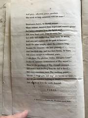 Celebrating Buxton/Johnston marriage & Slave Emancipation (1834-08-01