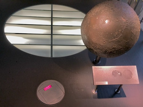 Moon exhibit
