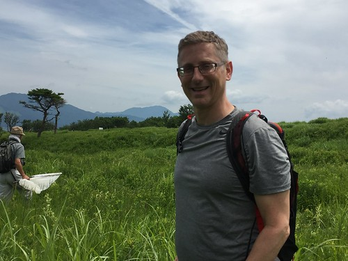 Andy in the Nashigahara grasslands