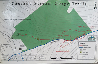 Cascade Stream Gorge Trails Map