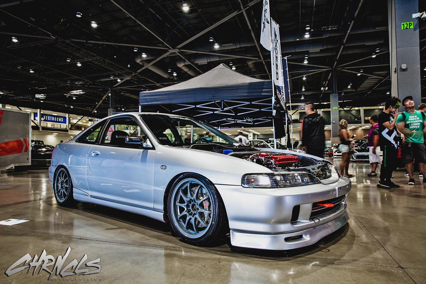 this is terryu0027s integra in all cleanedup and on display at the chronicles booth at wekfest seattle the only recent additions in the last couple