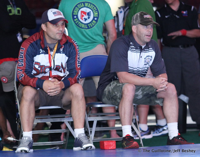 Coaches Randy Rager and Chad Erikson - 170717BJF0061
