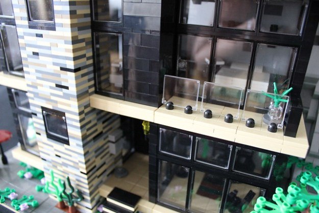 Green House MOC close-up exterior II