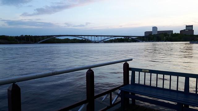 Plek voor zonsondergang in de winter - Kungsholmen