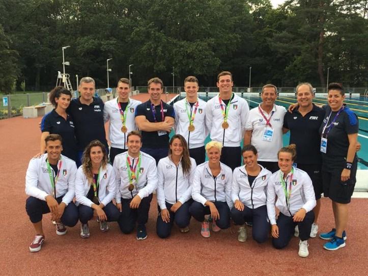 team Italia fine World Games credit G.Quintavalle