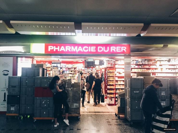 mua sắm ở Paris